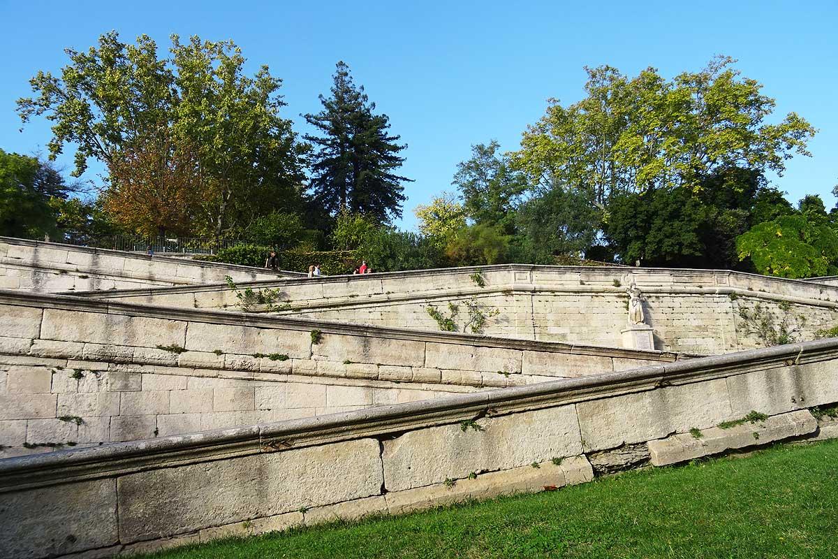 Les Jardins Des Monts D Or rocher des doms and jardin des doms in avignon | photos