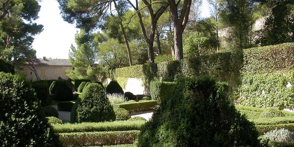 La chartreuse de bonpas photos horizon provence - Jardin romain caumont sur durance ...