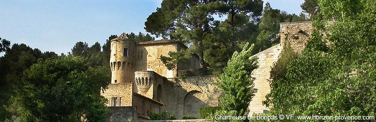 La chartreuse de bonpas caumont sur durance provence for Caumont sur durance jardin romain