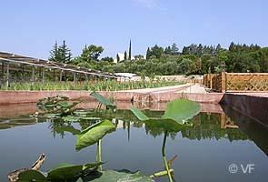 Caumont sur durance photos horizon provence - Jardin romain caumont sur durance ...