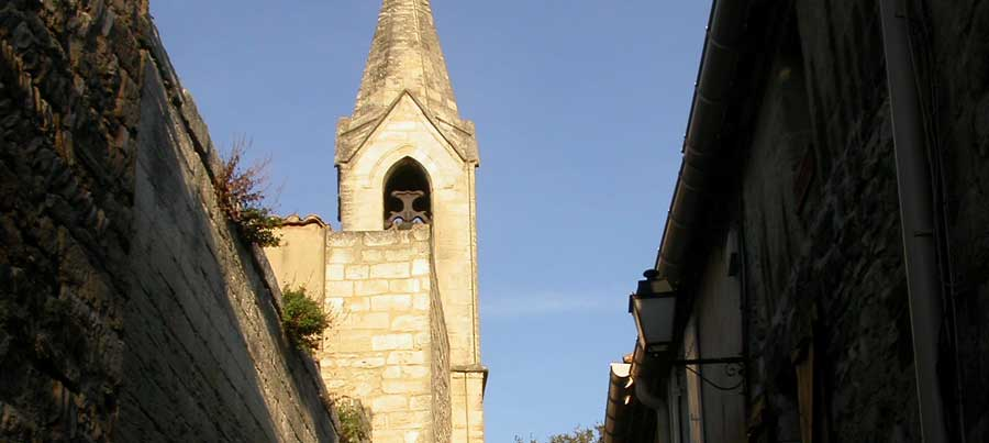 Les Angles Gard clocher �glise