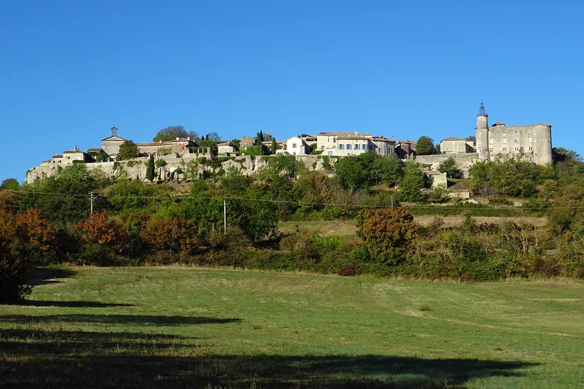 emballage élégant et robuste gamme exceptionnelle de styles code promo LUSSAN, wonderful village near Uzès| Horizon Provence