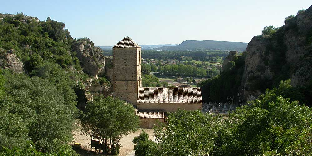 Mornas combe sainte Baudile &copy VF
