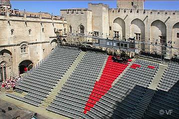 festival avignon palais des papes