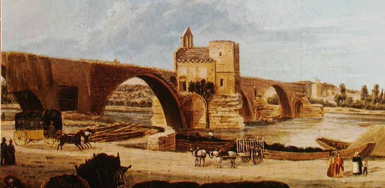 history of the bridge saint b233n233zet the bridge of avignon