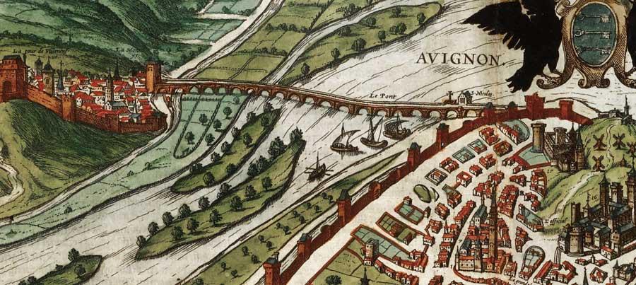 Histoire du pont saint b n zet le pont d 39 avignon - Ecole de decoration avignon ...