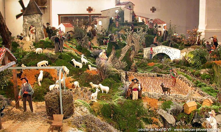 Populaire La créche de Noël à Banon - photos Horizon Provence SB55