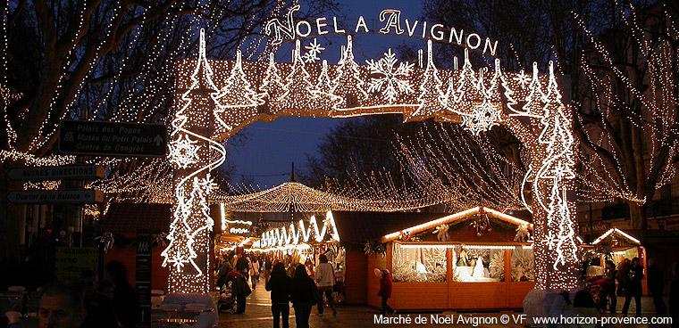 marche de noel en provence Marché de Noël en Avignon | Photos Horizon Provence marche de noel en provence