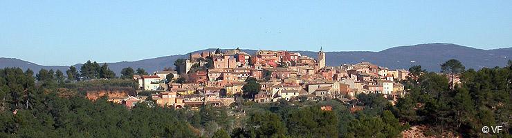 ROUSSILLON Village Ocre Du Luberon