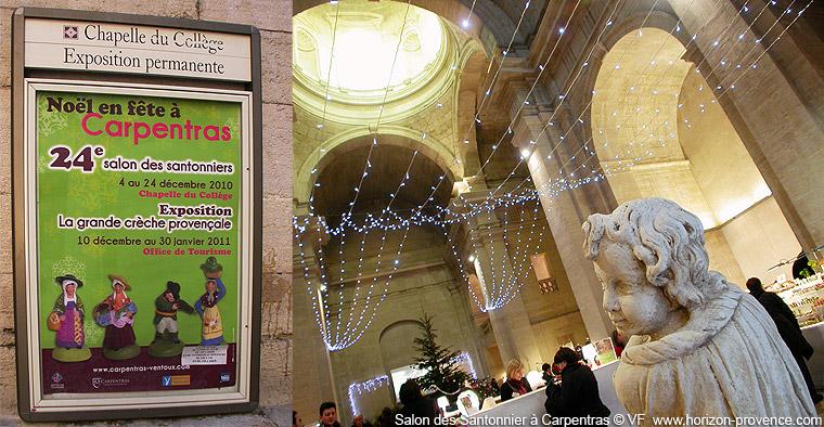 Salon des santonniers carpentras photos horizon provence for Marche de noel salon de provence