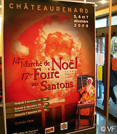 Foire aux santons ch teaurenard photos horizon provence for Marche de noel salon de provence